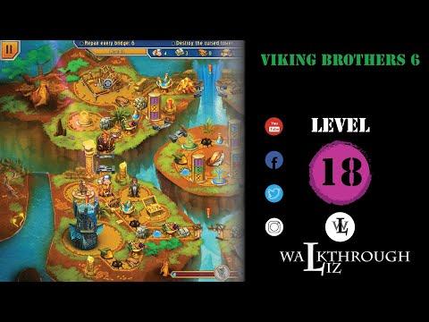 Viking Brothers 6 - Level 18 Walkthrough  
