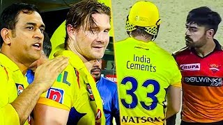 Watson Mania at Chepauk : CSK Vs SRH Match Highlights   Dhoni   Rashid Khan   IPL 2019