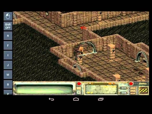 Геймплей fallout 2 на Android Через ExaGear Strategies