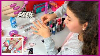 Tırnak Tasarım - Nail Art - Eğlenceli  Video