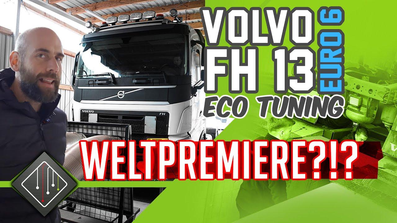 Volvo FH13 510 Euro6 | ECO-Softwareoptimierung | MAHA LKW Prüfstand | ECU Tune | mcchip-dkr