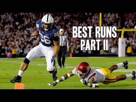 Best Runs of the 2016-17 College Football Season - Part 2 ᴴᴰ