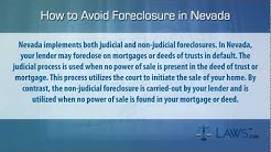 How to Stop Foreclosure in Nevada