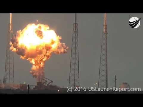 SpaceX Falcon 9 rocket destroyed by a mysterious object?