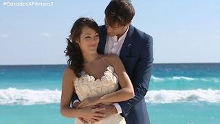Revolcón en la arena - Casados a primera vista