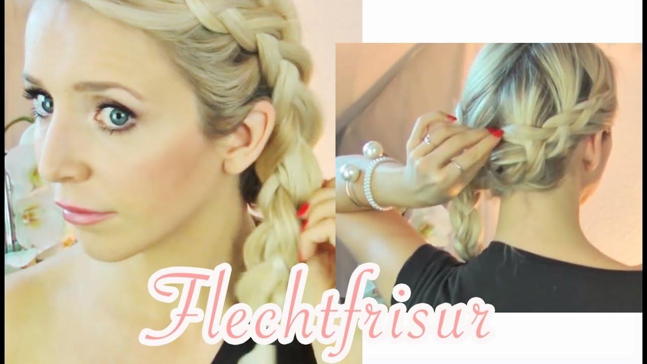 Flechtfrisur Leicht Gemacht Lange Haare Mittel Haare Insp By Lena Gercke