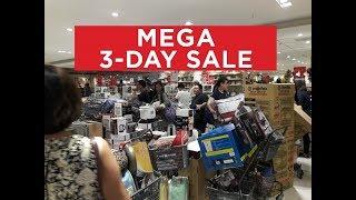 Sm Mega Sale Oct. 13 To 15, 2017