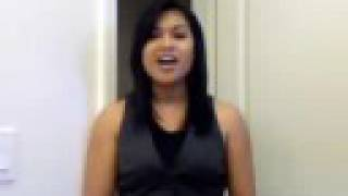"Singing ""Habang May Buhay"" (Cover) - After Image / Donna Cruz"