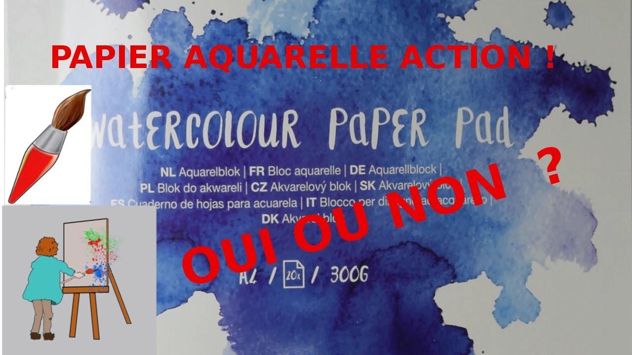 Aquarelle Et Papier Test Papier Action Et Une Astuce Youtube
