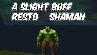 A Slight Buff - Restoration Shaman PvP - WoW BFA 8.2