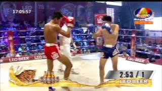khmer boxing,Lao chantrea VS Thai,khmer new boxing 27 March 2016.