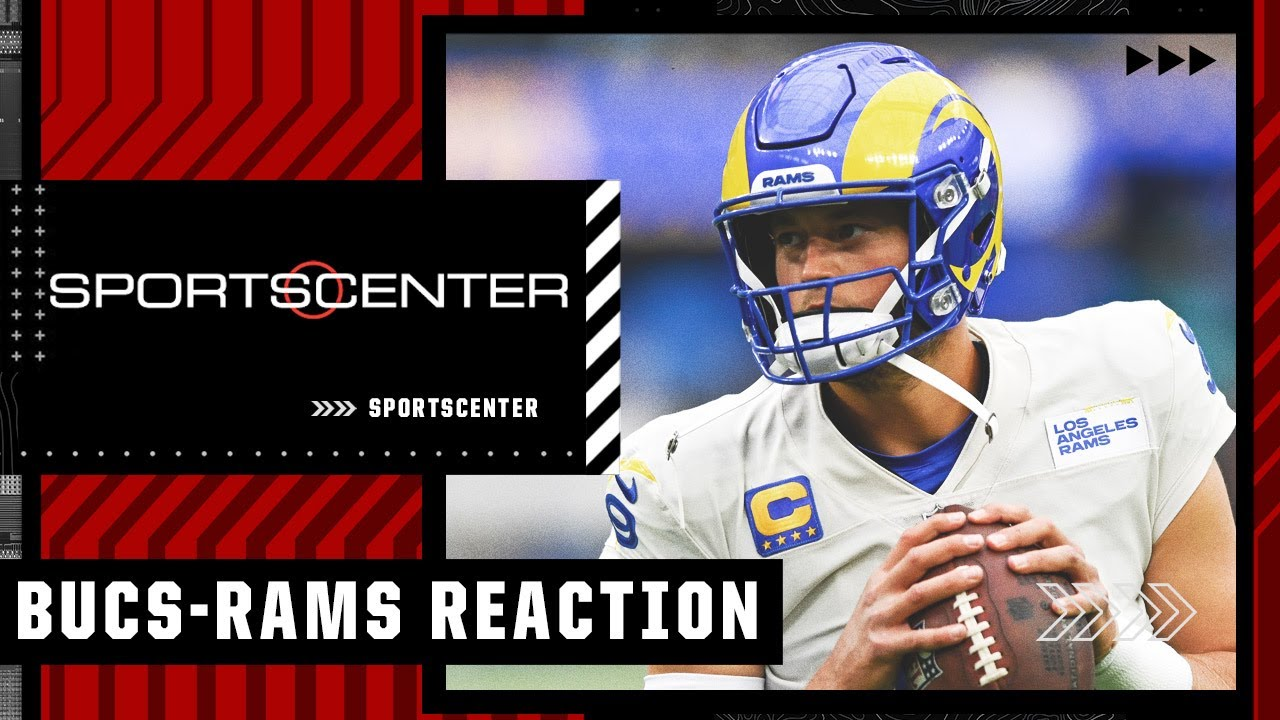 Reaction to the Rams' 34-24 win against the Buccaneers | SportsCenter