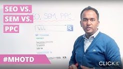 SEO vs. SEM vs. PPC | Marketing Hack of The Day by Solomon Thimothy