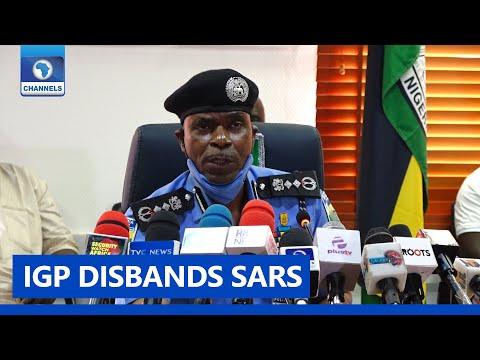FULL VIDEO: Inspector-General Of Police Scraps SARS