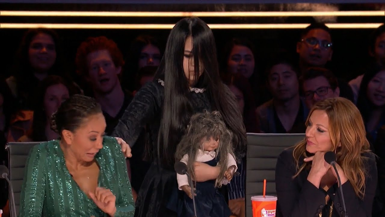 The Sacred Riana Stun The Judge With A Terrifying Imaginary Friend on America's Got Talent