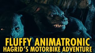 FIRST LOOK Fluffy Animatronic | Hagrid's Magical Creatures Motorbike Adventure | Universal Orlando