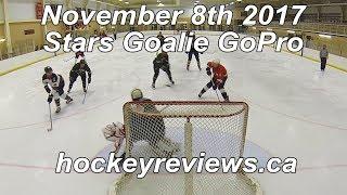 November 8th 2017 Stars (Call Up) Hockey Goalie GoPro... Shelled Edition