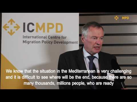Jorma Antero Vuorio on resettlement and legal migration - ICMPD Vienna Migration Conference