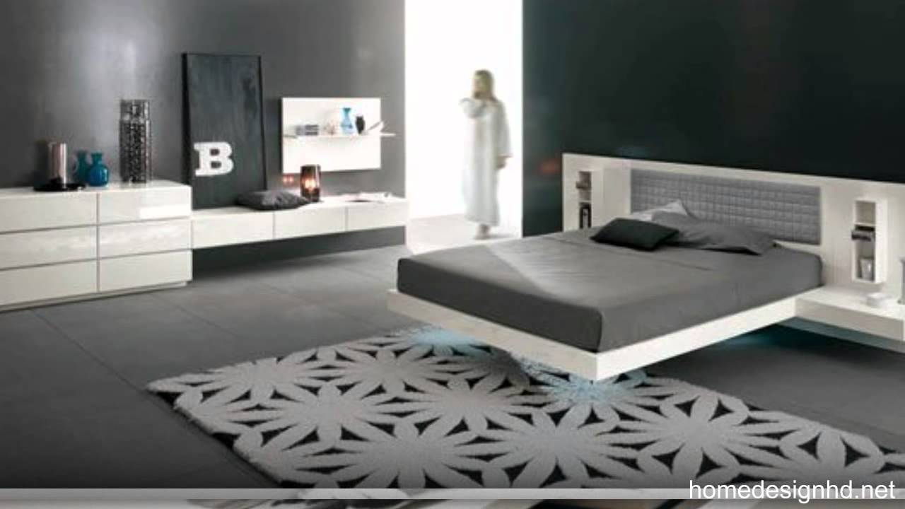 Modern Suspended Bed Aladino Upalf Group [hd]   Youtube