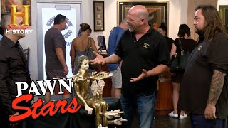 Pawn Stars: The Most Unique Pedro Friedeberg Figure the Pawn Shop Has Ever Seen | History