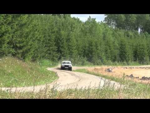 inside Saab - 2011 Midnight Sun Rally - SS14