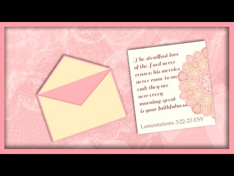 A Valentine Letter for You Bible eCard