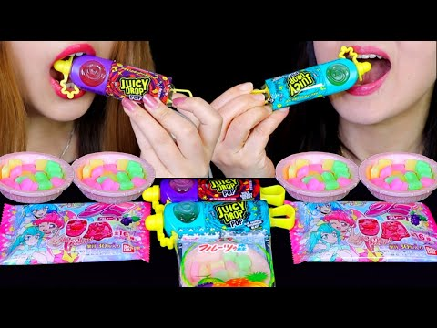 JUICY DROP POPS, GUMMY CANDY, MOCHI CANDY, EDIBLE WAFER BOWL | Kim&Liz Too