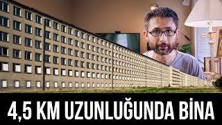 Hitler neden 4,5 km uzunluğunda bir bina tasarladı? PRORA Oteli