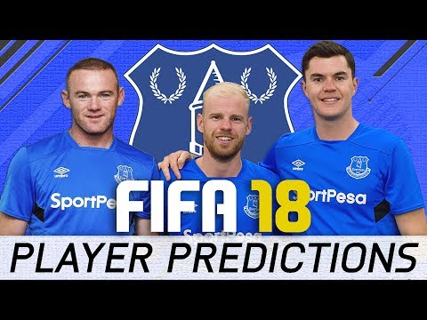 FIFA 18 Everton Player Ratings Predictions - The Return of Rooney