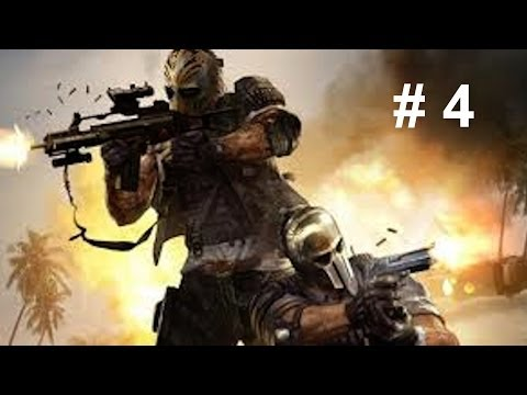 Army Of Two TDC Walkthrough # 4  (Outside Contact)