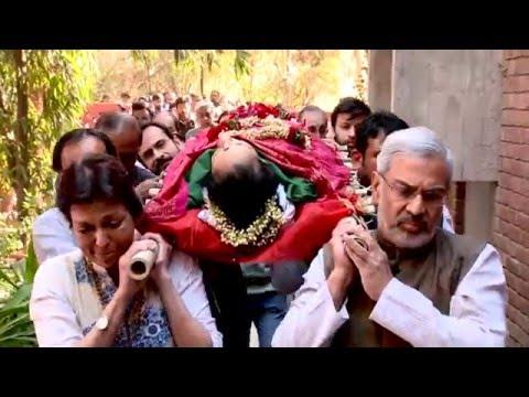 Mrinalini Sarabhai leaving for her eternal dance