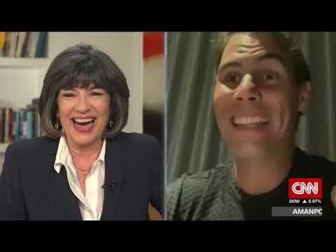 Great Rafa Nadal interview with Christiane Amanpour on CNN today - surprisingly in-depth!