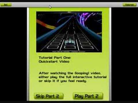 Audiosurf Tutorial Part 1