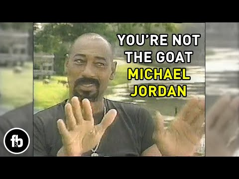 Wilt Chamberlain explains why he's better than Michael Jordan