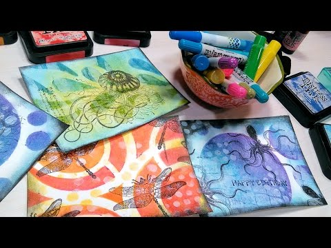 Stamp School: Stencil Layering-Use YOUR Stash!