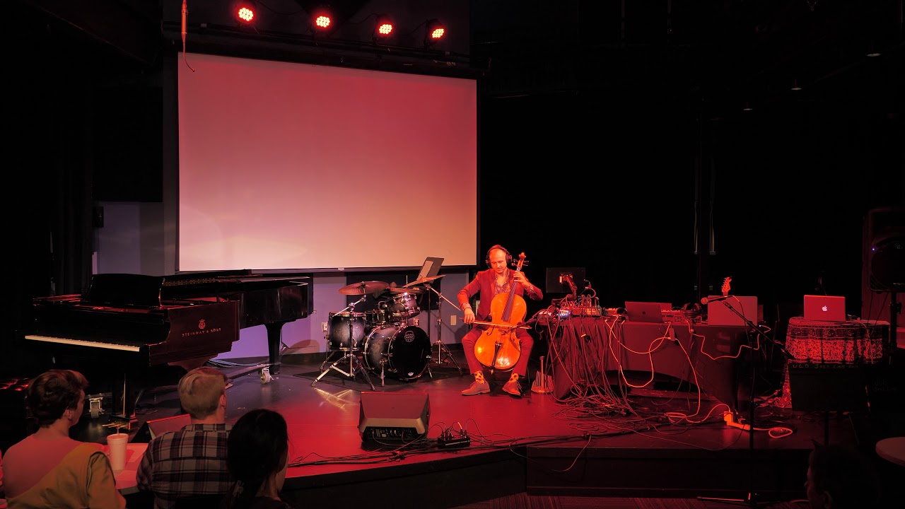 Elevated Center - Electro-acuostic Cello and Percussion