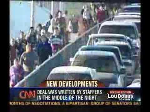 Lou Dobbs Tonight 05.17.07 - Amnesty & North American Union
