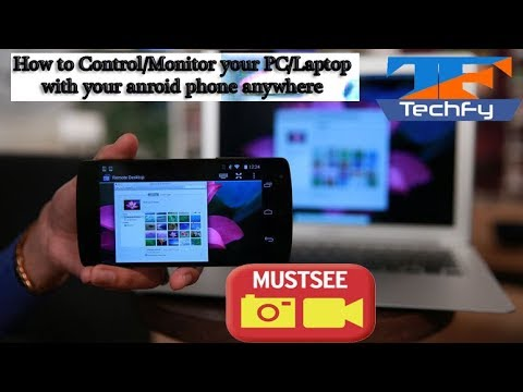 How to Control PC & Laptop from Android Phone (Easy Steps) ! Using Chrome !! Must Watch[Hindi]