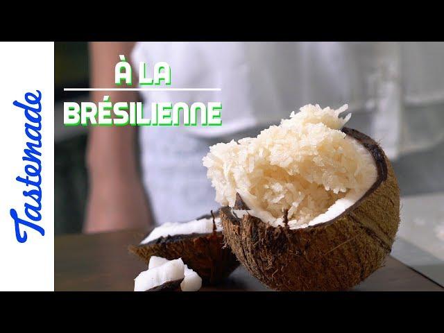 Rochers à la noix de coco - À la brésilienne