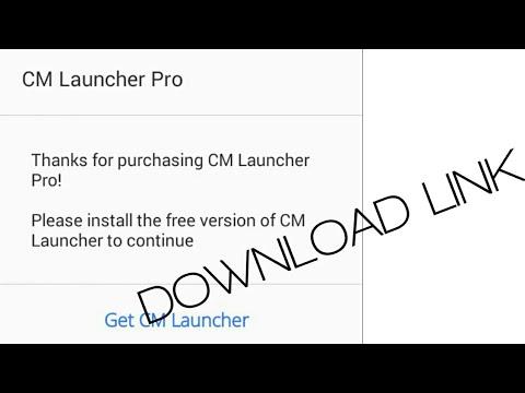 cm launcher full mod apk