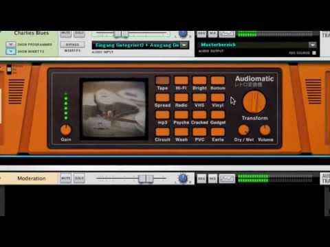 Propellerhead Reason 7 - Audiomatic Retro Transformer  [GERMAN]