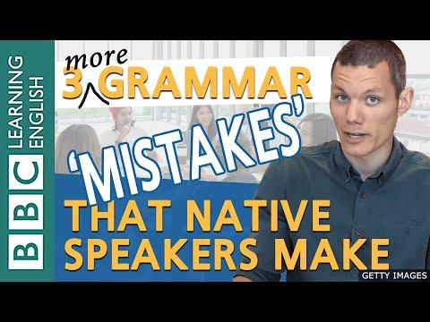 BBC Masterclass: Native-speaker