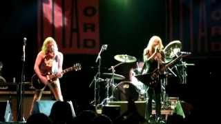 Lita Ford - Living Like A Runaway & Gotta Let Go, Skogsröjet 2013-07-26