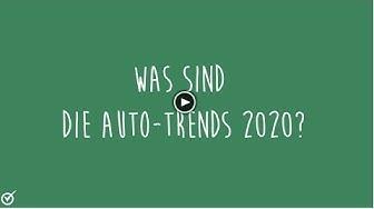 Auch ohne Autosalon: Das sind die Auto-Trends 2020