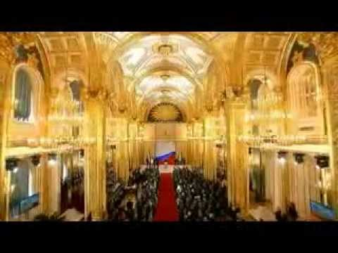 Russian National Anthem played at president Vladimir Putin's Inauguration