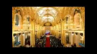 Russian National Anthem played at president Vladimir Putin