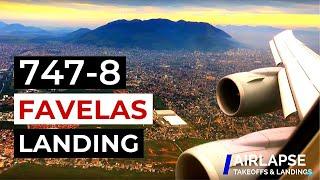SPECTACULAR LANDING IN RIO | Lufthansa 747-8i Landing in Rio de Janeiro (GIG) LH500