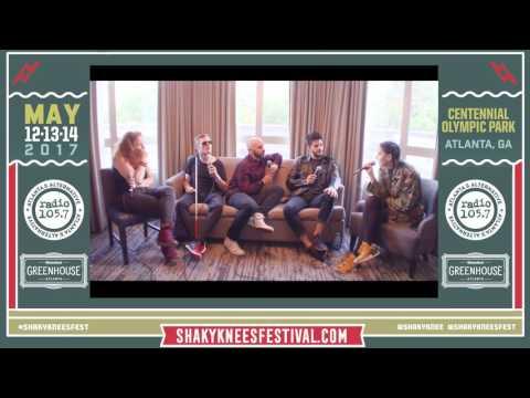 Wendy hosts X Ambassadors interviewing Bishop Briggs