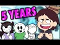 REACTING TO MY OLD VIDEOS (ft. JaidenAnimations, TimTom, & SomethingElseYT)
