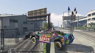 Grand Theft Auto V Arena wars car Driving